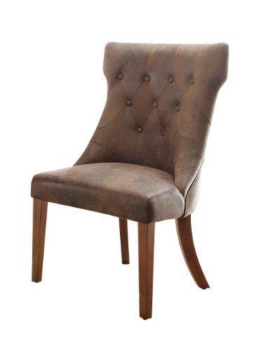 Homelegance 2526s Button Tufted Accent Dining Chair