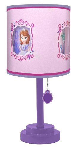 Disney Sofia The First Diecut Table Lamp Rings N Rollers