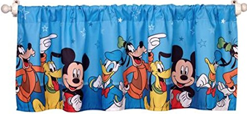 mickey mouse bedroom decor window valance mickey mouse playground