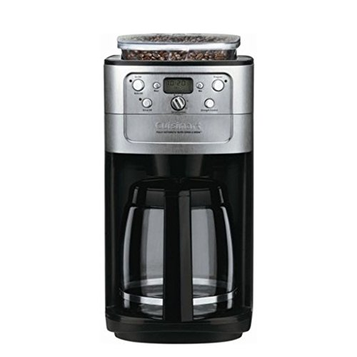 Cuisinart DGB-700BC Grind-and-Brew 12-Cup Automatic Coffeemaker Brushed Chrome/Black ...