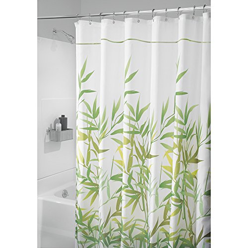 84 Inch Long Fabric Shower Curtains Double Curtain Rods