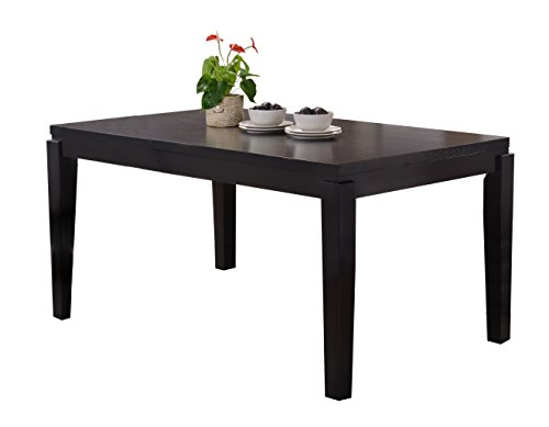 Kings Brand Furniture Cappuccino Finish Wood Dining Room Kitchen Table Ri