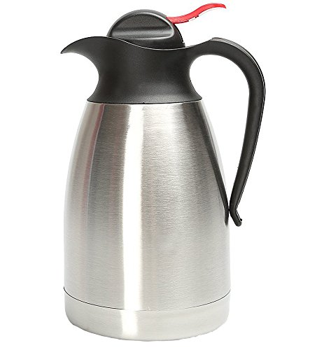 acechef 68 oz stailess steel thermal carafe double walled vacuum insulated carafe thermos. Black Bedroom Furniture Sets. Home Design Ideas