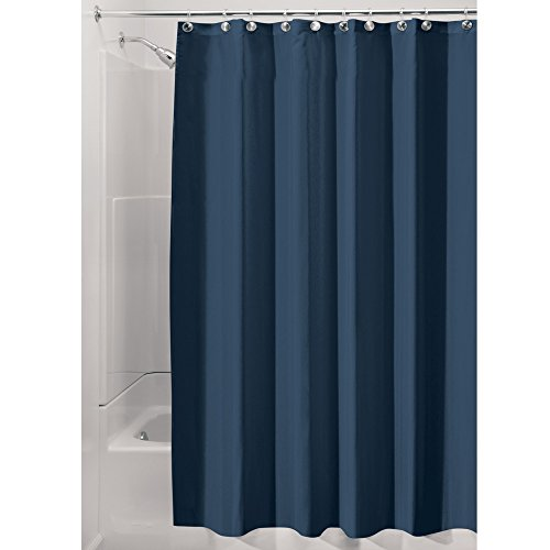Interdesign Water Repellant And Mildew Resistant Fabric Shower Curtain 108 X 72 Extra Wide