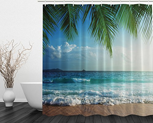 Palms Ocean Tropical Island Beach Decor Maldives High