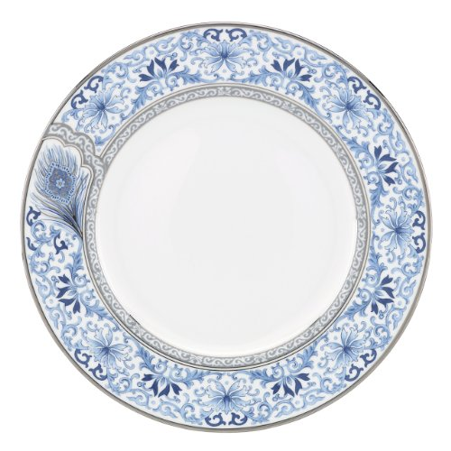 Lenox Marchesa Couture Dinner Plate, Sapphire Plume