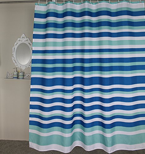Shower Curtains Stall Extra Long Stripes Stripe Shower Curtain 54 X 78 Inch For Bathroom