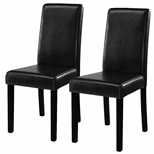 Costway Elegant Design Leather Modern Dining Chairs Room  : 41gko4OjQiL from rings-n-rollers.com size 500 x 500 jpeg 30kB