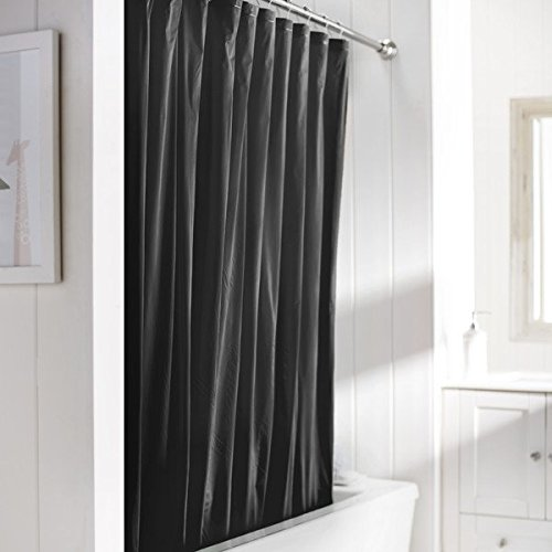 Checkered Shower Curtain Black And White