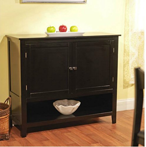 Andover Buffet Server in Amazing Black Finish – This Accent Table ...