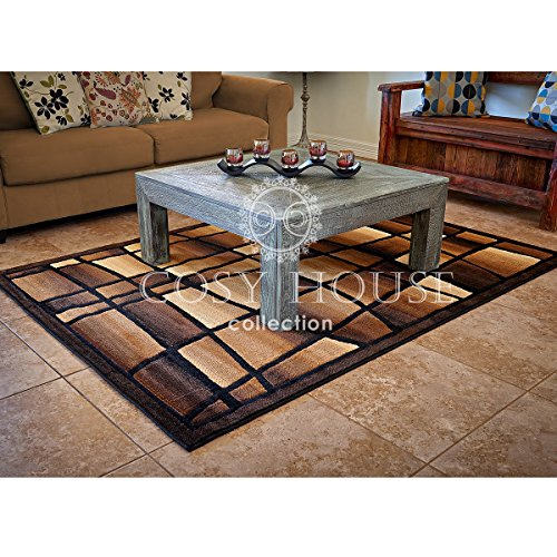 Contemporary area rugs by cosy house best rug for dining for Dining room rugs 7 x 10