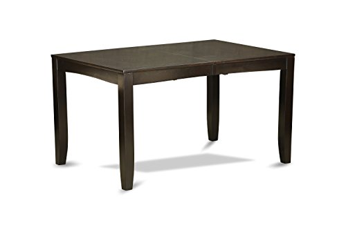 lyt cap t rectangular dining table with butterfly leaf 36 by 66 inch