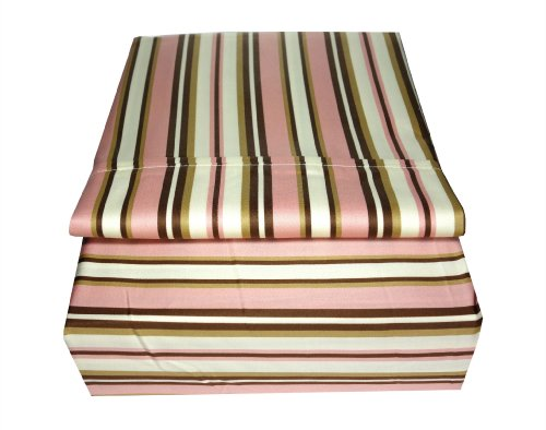 Prestige Home Textiles 350 Thread Count Print Stripe Sheet