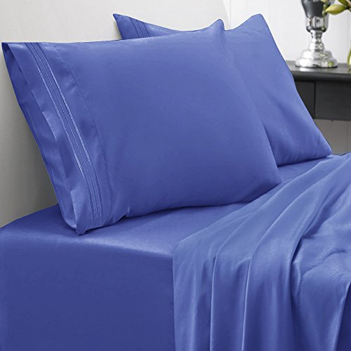 Sweet home collection luxuriously high thread count for High thread count sheets