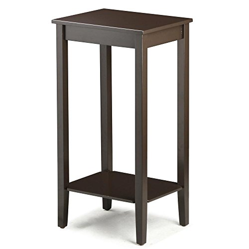 Topeakmart Tall Side Coffee End Table Solid Wood