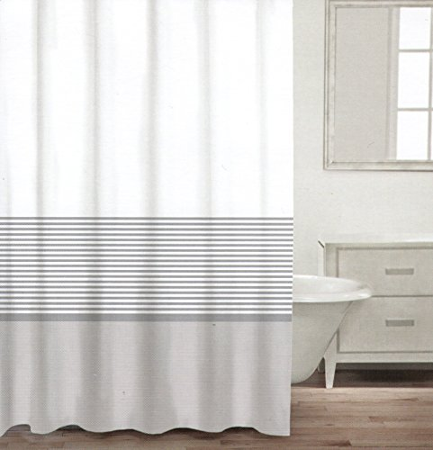 Grey And White Striped Curtains Gray And White Striped Ring Curtain Nalle S House Master