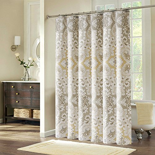 Welwo X Extra Long Shower Curtain 72 X 84 Inches