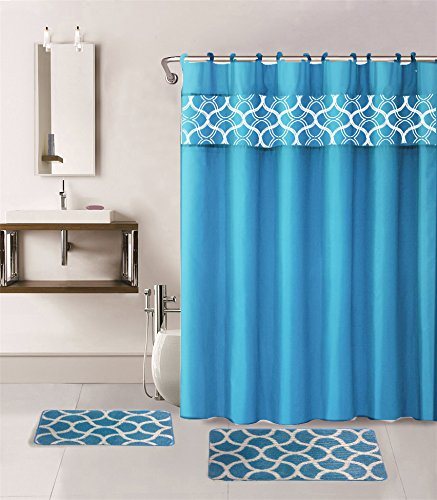Bathrooms with shower curtains 2