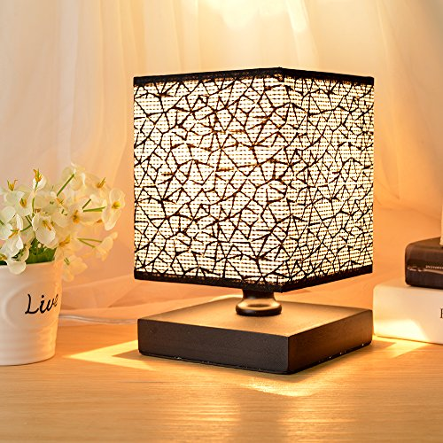 Hhome Plus Simple Modern Table Lamp Bedside Desk Lamp With