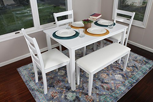 5 Piece Kitchen Dining Table Set
