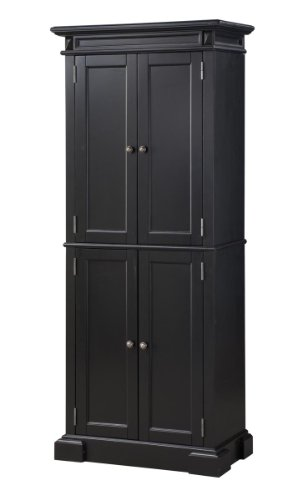 black kitchen storage cabinet home styles 5004 694 americana pantry storage cabinet 12405